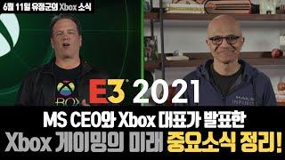 E3 게임쇼 전 꼭 보세요! MS가 발표한 Xbox와 …