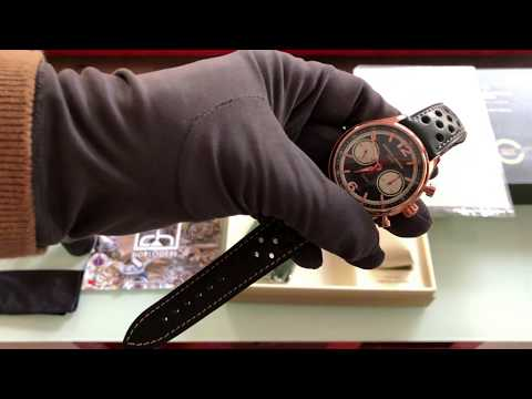 Frederique Constant Vintage Rally Healey Chronograph - Unboxing