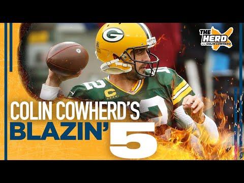 Blazin' 5:Colin Cowherd's picks for Week 11 of the 2020 NFL season| THE HERD