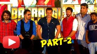 UNCUT Bajrangi Bhaijaan Song Launch | Aaj ki Party | Salman Khan - PART 2