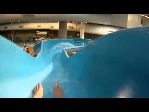 Blue Slide (HD POV) Southland Leisure Center, Calgary, AB