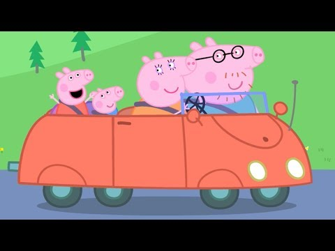 Peppa Pig English Episodes | Peppa and the Red Car! | #123