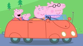Peppa Pig Episodes | Peppa and the Red Car! | Cartoons for Children thumbnail