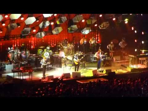 Arcade Fire - Axel F (Beverly Hills Cop Theme) - Normal Person (The Forum, Los Angeles 8/2/14)