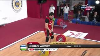 2013 World Weightlifting Championships 77 kg A Group Snatch