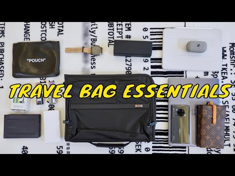 WHAT'S IN MY TRAVEL BAG (Essentials)
