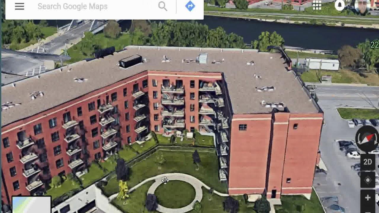 Montreal on Google Maps - YouTube on