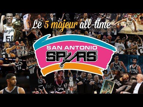 Spurs : le 5 majeur all-time de San Antonio