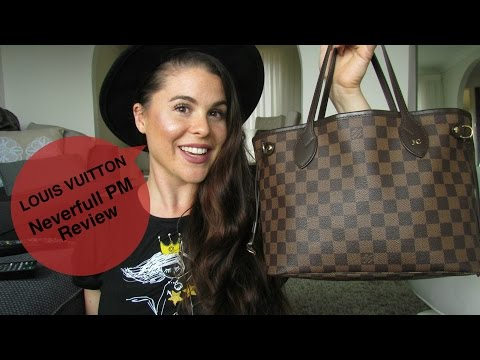 e47173a16 Louis Vuitton Neverfull PM Review!! - YouTube