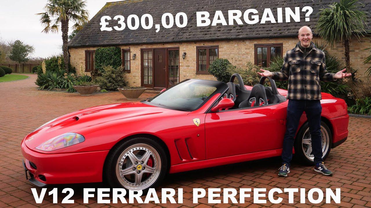 [Time To Buy?] Ferrari 550 Barchetta Pininfarina