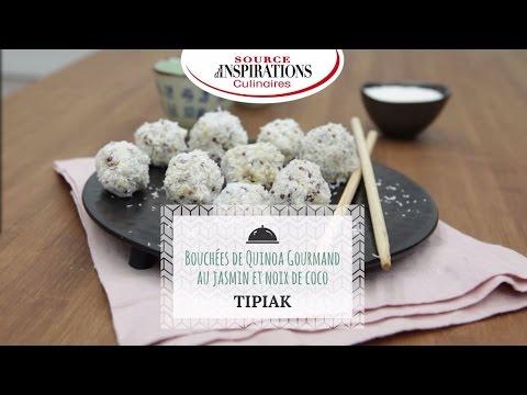 recette-bouchées-de-quinoa-gourmand-au-jasmin-et-noix-de-coco---tipiak