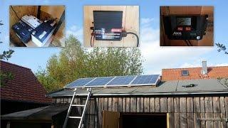 Solaranlage mit Eigenverbrauch - Aktueller Baufortschritt