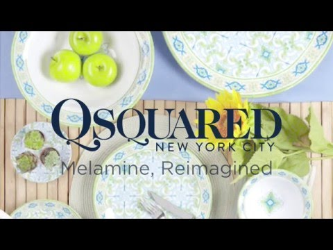 Q Squared | High Quality Melamine Dinnerware