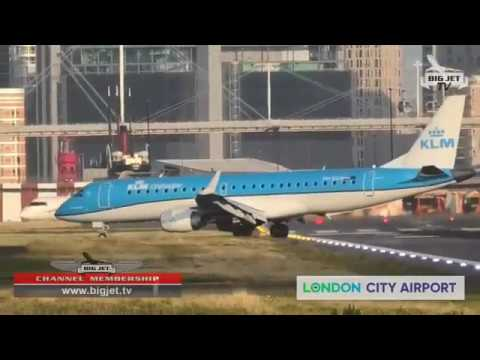 Planespotting At London City Airport 7/8 (Streamed Live)