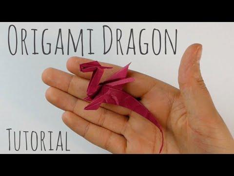 Easy Origami Dragon by Armin Täubner / Tutorial - Henri Louis