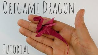 Easy Origami Dragon by Armin Täubner / Tutorial - Henri Louis