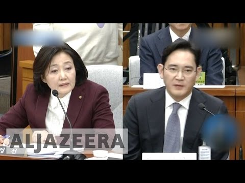 South Korea: Business elite grilled over Park scandal