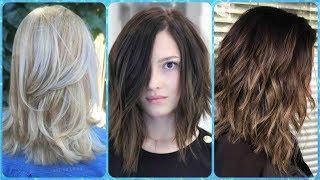 Dobrze fryzury włosy do ramion cieniowane