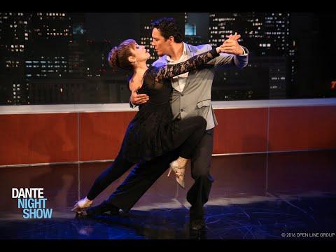Bailan tango los campeones Miriam Larici y Leonardo Barrionuevo – Dante Night Show