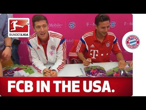 Bayern's US Tour - Goodbye New York, Hello Portland