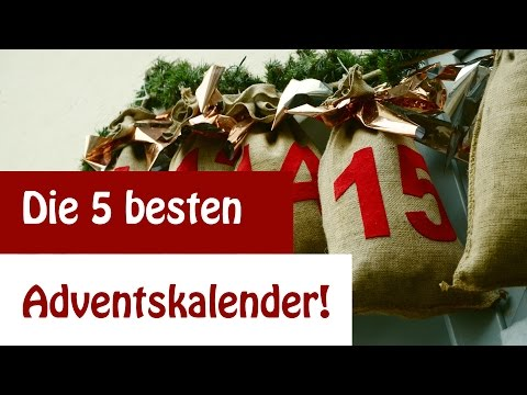 The 5 most ingenious advent calendars to make yourself | DIY - DIY tutorial