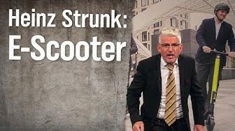 E-Scooter-Experte Heinz Strunk | extra 3 | NDR