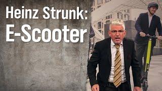 E-Scooter-Experte Heinz Strunk