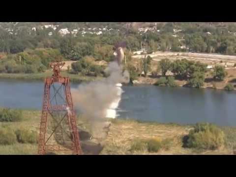 2014 09 19 Explozie a unui segment al telefericului Rezina-Rabnita