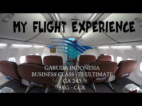 MY FLIGHT EXPERIENCE (FLIGHT REPORT) - E19 - GARUDA INDONESIA BUSINESS CLASS & T3 ULTIMATE | SRG-CGK