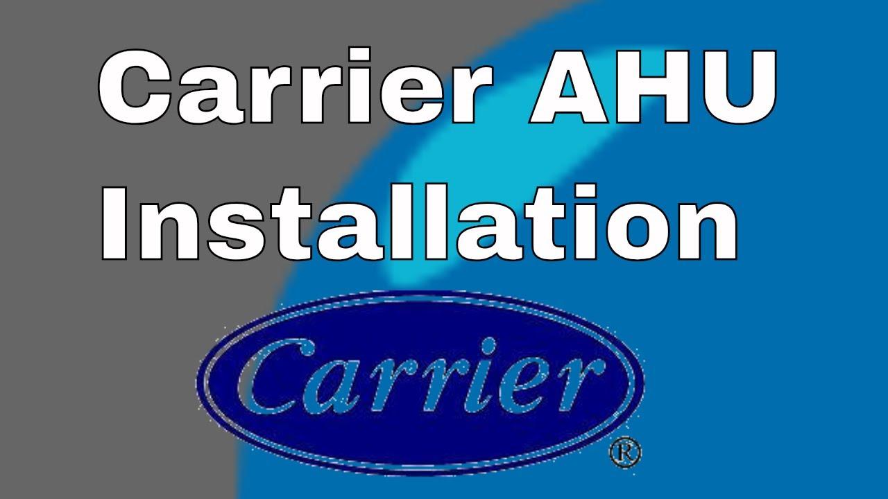 Carrier air handler Installation Manual