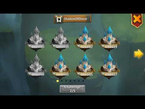Castle Clash - Mino Zep Tree [Guild Wars] Only 1,3m+ Bases