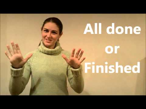 American Sign Language (ASL) Lesson: Food & ABCDE