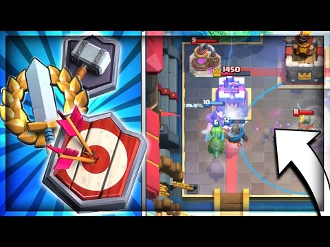 ROAD TO MASTER LEAGUE + 12 WIN GRAND CHALLENGE RUN!! Clash Royale