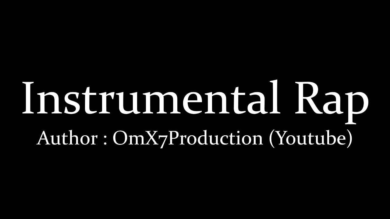 Instrumental Rap 1 Hour Youtube