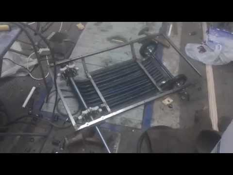 видео: мини снегоход своими руками часть 2