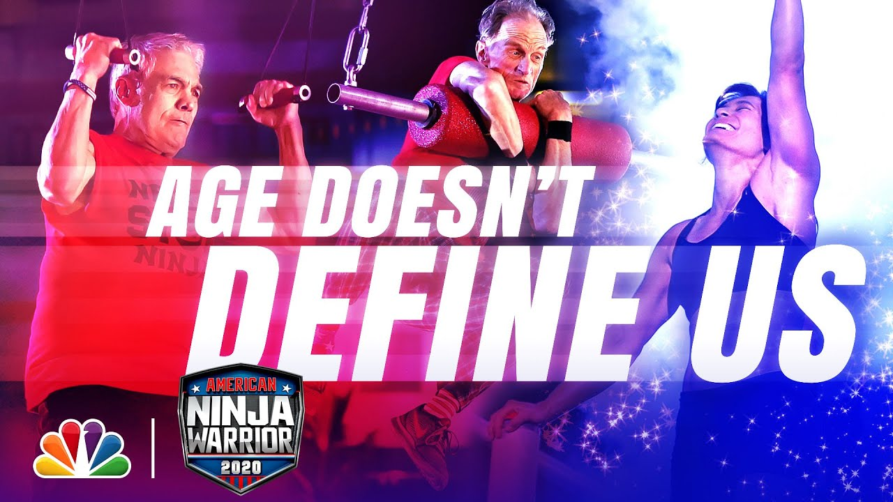 Download Ninjas Pushing the Limits of Their Ages - American Ninja Warrior