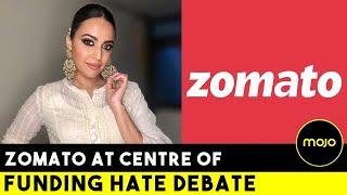 Stop Funding Hate says Swara Bhaskar to Zomato | Boycott Calls in Retaliation | Barkha Dutt
