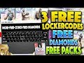 3 NEW FREE LOCKER CODES TO USE IN NBA 2K19 MYTEAM!! DIAMONDS AND TONS OF MT! NBA 2K19