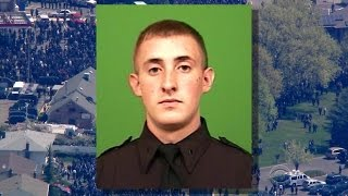 Officers honor NYPD's Brian Moore