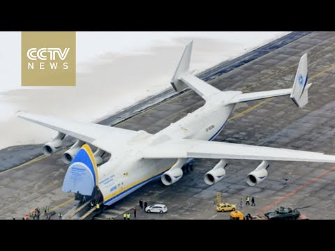 China signs deal with Ukraine to build AN-225, world's largest plane