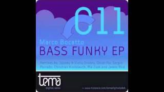 "Marco Bocatto ""Bass funky"" Spinky & Vicky Groovy rmx TEMA Digital Label (TEMA011)"