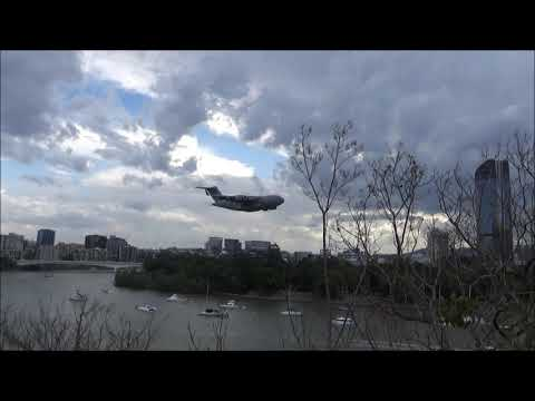 C 17A Globemaster  'Riverfire' Brisbane Queensland Australia Sept'2018 by Graham K Furness