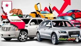 Mercado de autos en California | Tixuz Autos