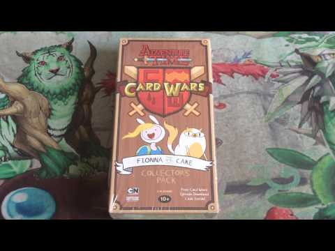 Adventure Time Card Wars Fionna VS. Cake Collector's Pack Opening