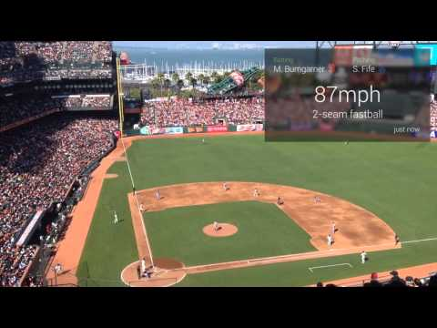 This Google Glass baseball app brings real-time game info directly to your face