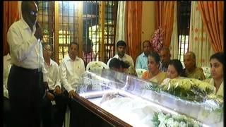 K .K . Joseph (85 )  Puthupally   Funeral on  13 02 2016