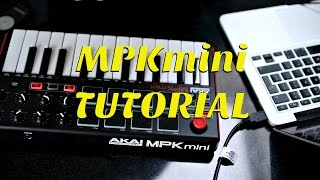 MPK mini Tutorial - How I Record My Covers And Remixes | Lydia Lane