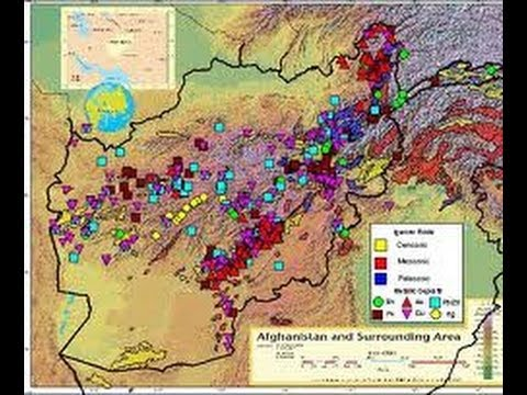 $1Trillion Afghan Mining Rights