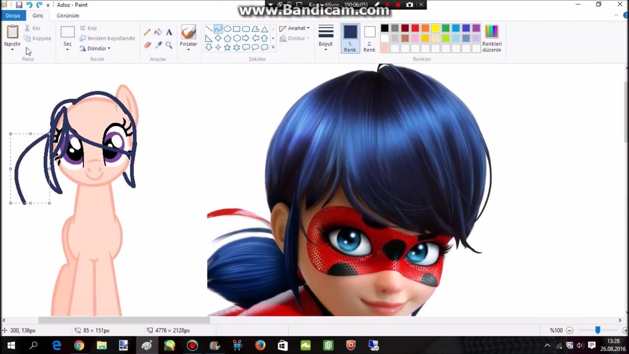 00c9396504aeca Miraculous Ladybug Pony Version MLP Base SpeedPaint - YouTube