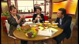 Ehrlich Brothers verbiegen Löffel bei Volle Kanne im ZDF